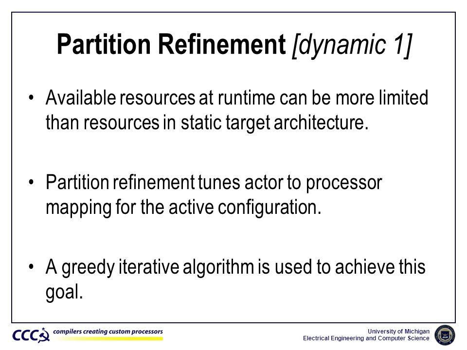 Partition Refinement [dynamic 1]